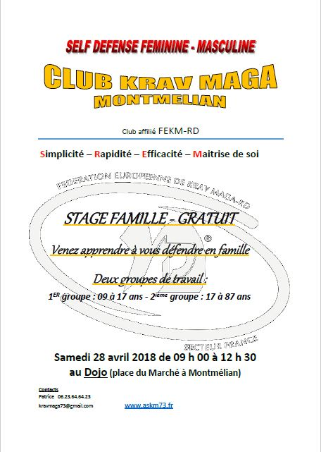 Capture flyer stage GRATUIT